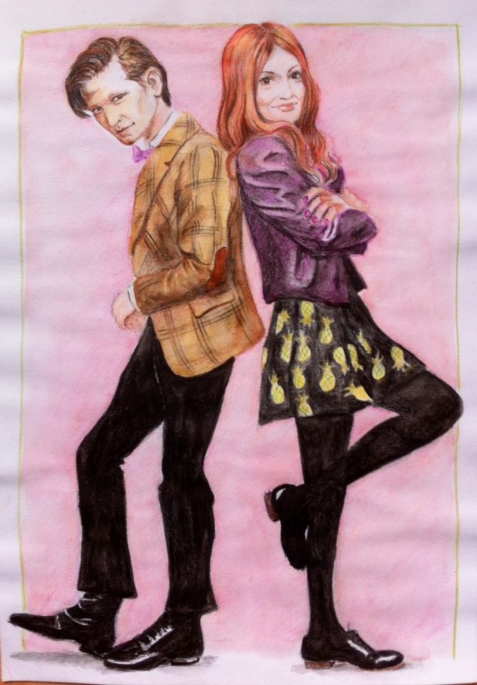 Matt Smith, Karen Gillan por Garance55